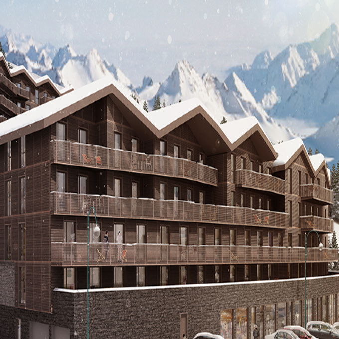 Programme neuf Immeuble Les deux alpes (38860)