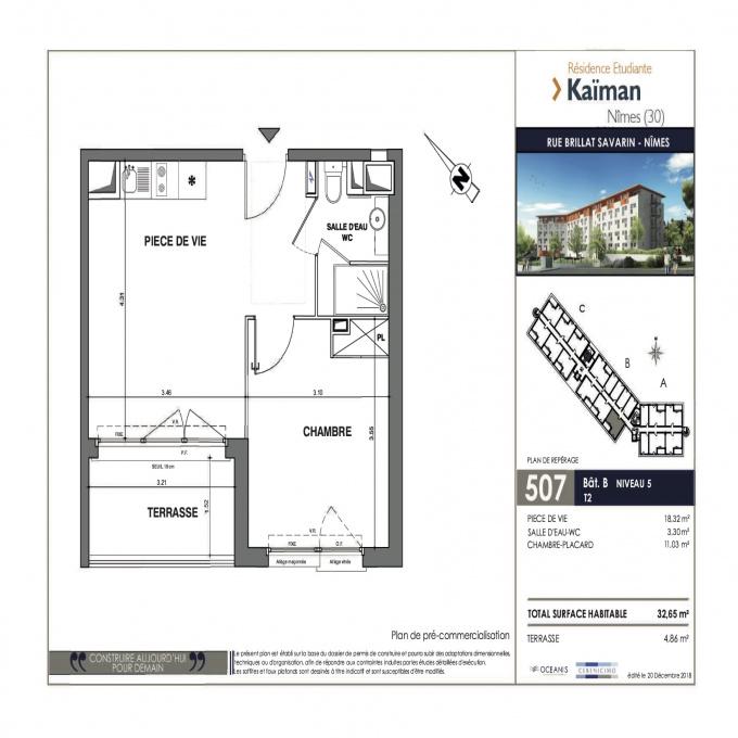 Programme neuf Studio Nîmes (30000)